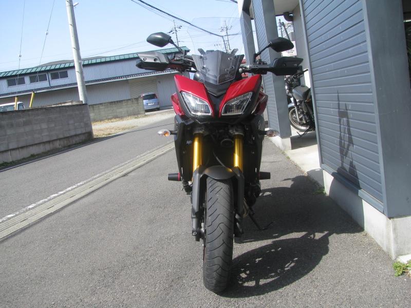 中古車 ヤマハ MT-09 TRACER ABS(トレーサーABS) レッド まえ側