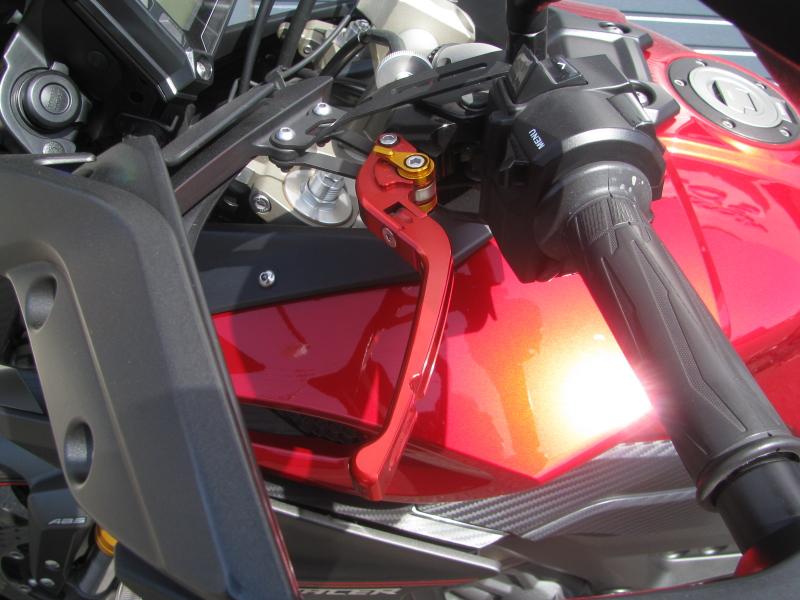 中古車 ヤマハ MT-09 TRACER ABS(トレーサーABS) レッド 左ハンドルレバー
