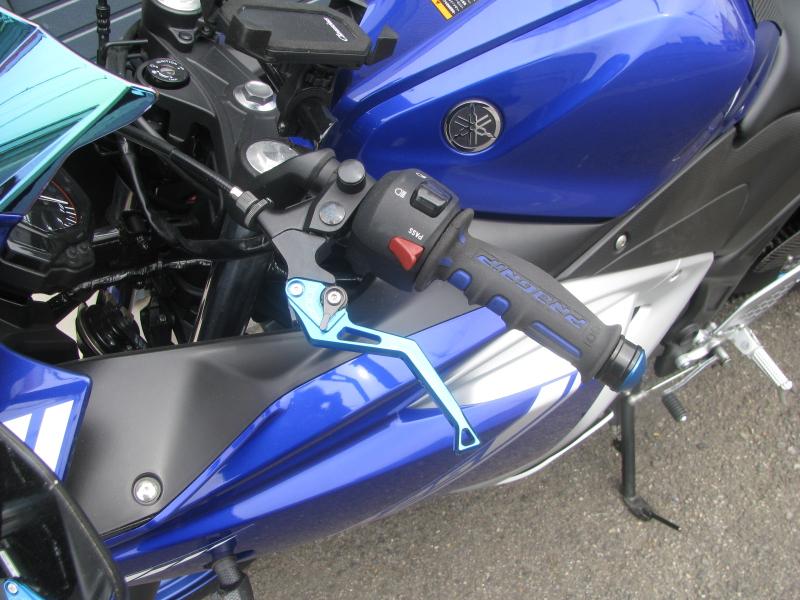 中古車 ヤマハ YZF-R25 ABS ブルー クラッチレバー