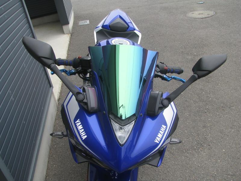中古車 ヤマハ YZF-R25 ABS ブルー ABS ミラースクリーン