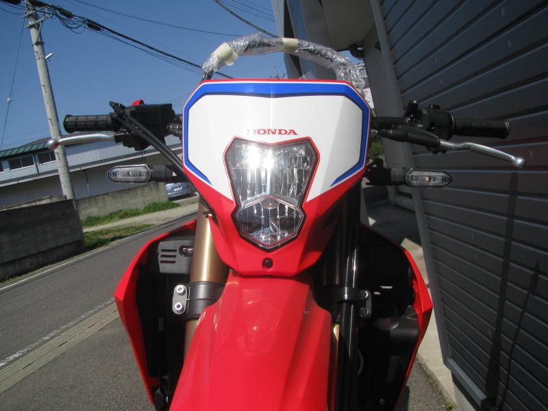 新車バイク ホンダ CRF250L レッド 2021年モデル LEDヘッドライト
