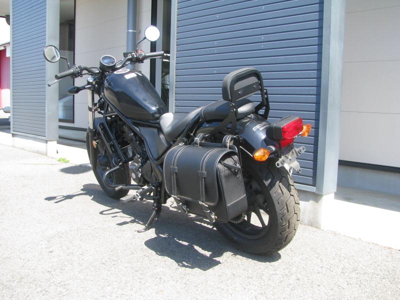 中古車バイク ホンダ レブル250(REBEL250) ブラック 左うしろ側