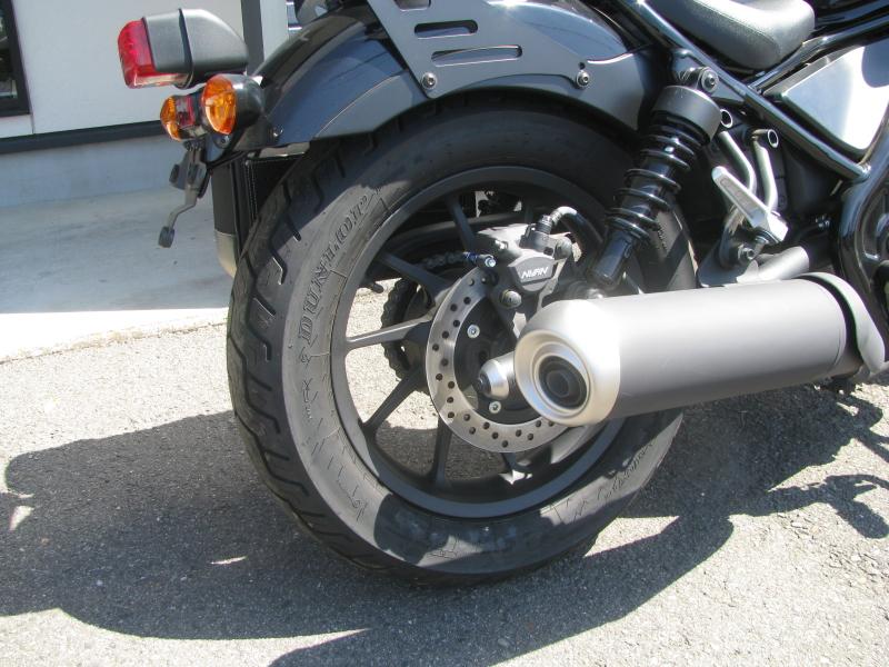 中古車バイク ホンダ レブル250(REBEL250) ブラック リアホイール