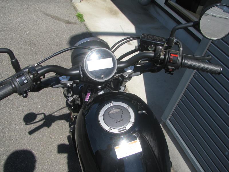 中古車バイク ホンダ レブル250(REBEL250) ブラック メーター周り