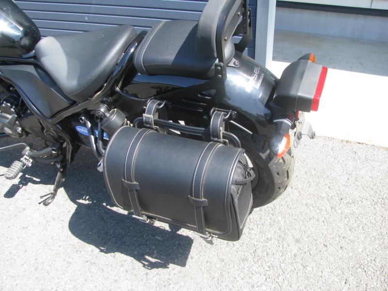 中古車バイク ホンダ レブル250(REBEL250) ブラック シートバック