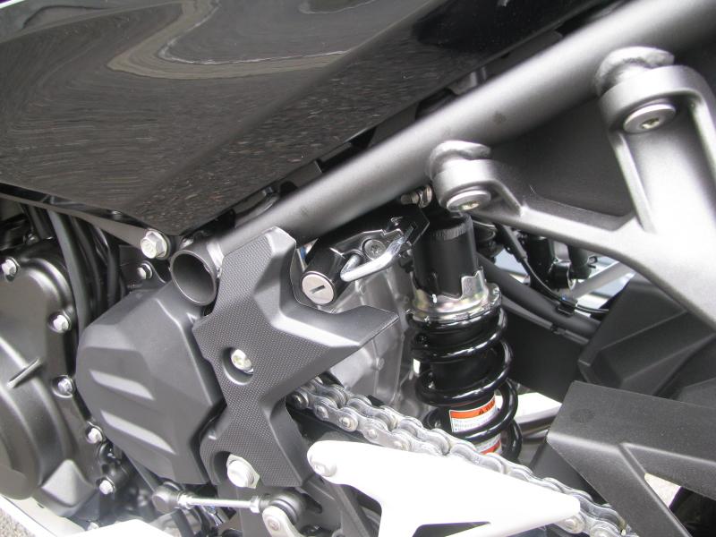 新車バイク カワサキ Ninja250 KRT EDITION グリーン 2021年モデル ヘルメットホルダー