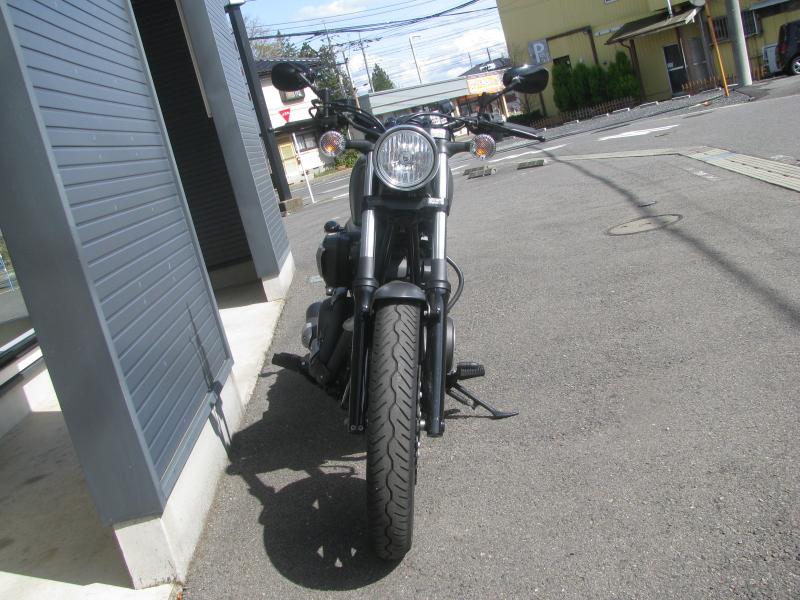 中古バイク ヤマハ BOLT-R (ボルト Rスペック) マットグレイ まえ側