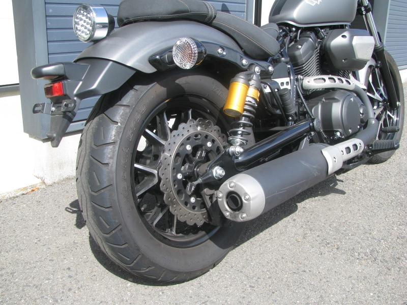 中古バイク ヤマハ BOLT-R (ボルト Rスペック) マットグレイ リアホイール