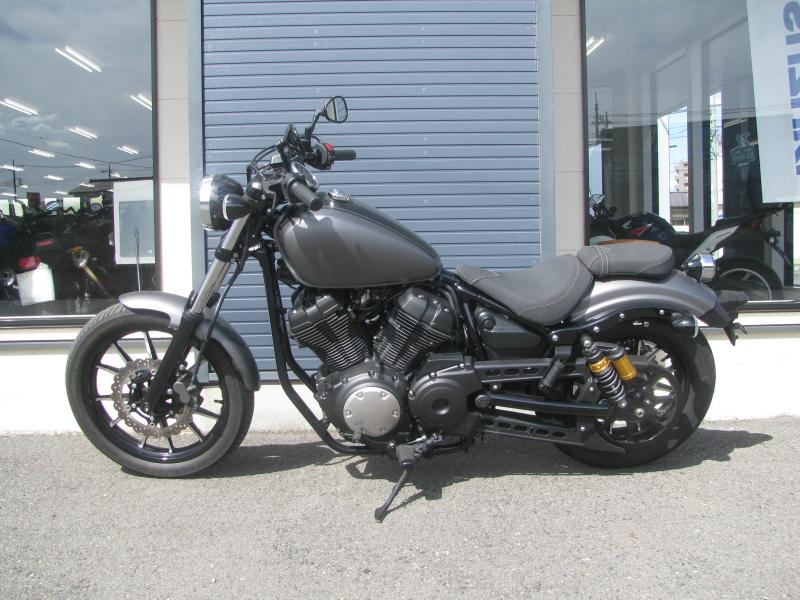 中古バイク ヤマハ BOLT-R (ボルト Rスペック) マットグレイ ひだり側