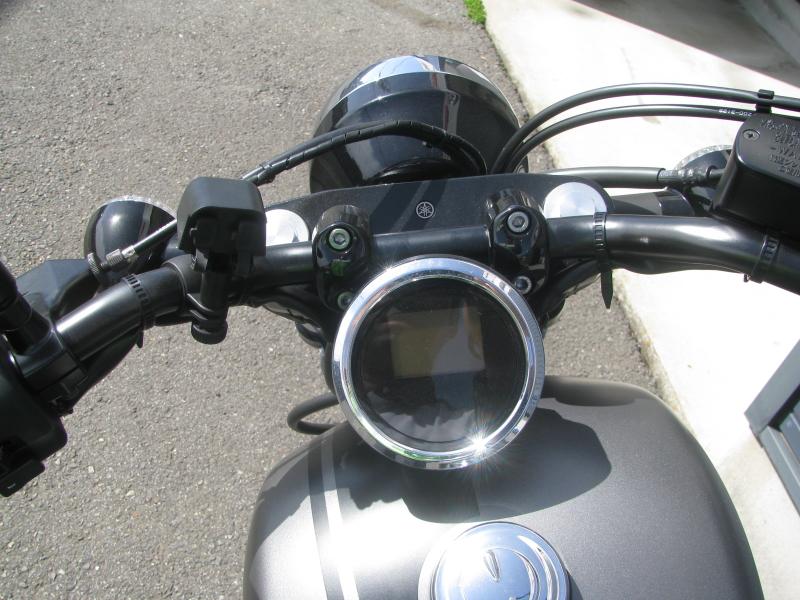 中古バイク ヤマハ BOLT-R (ボルト Rスペック) マットグレイ メーターパネル