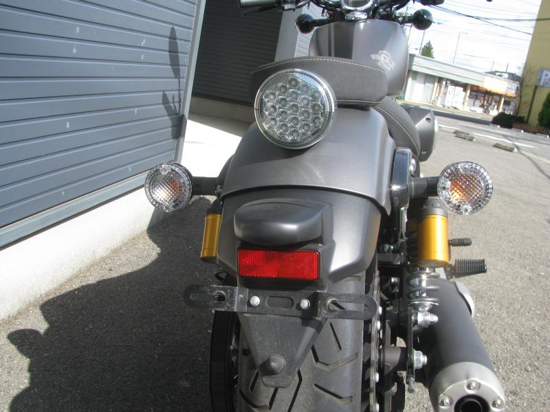 中古バイク ヤマハ BOLT-R (ボルト Rスペック) マットグレイ LEDテールランプ