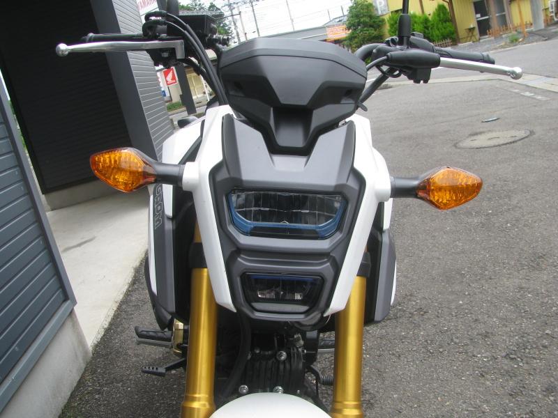中古車バイク ホンダ グロム(GROM) ホワイト LEDヘッドライト