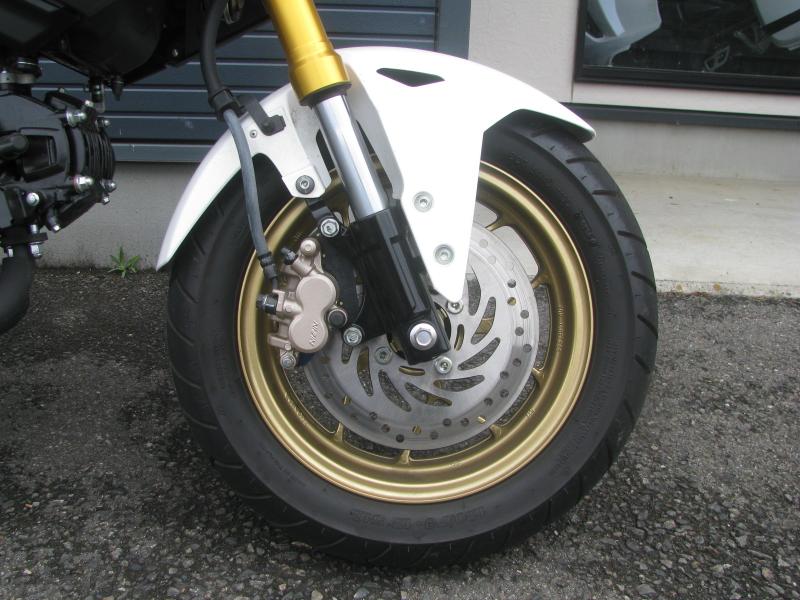 中古車バイク ホンダ グロム(GROM) ホワイト フロントホイール