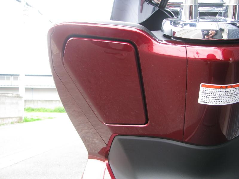 中古車 ホンダ PCX レッド (125cc) フロントポケット