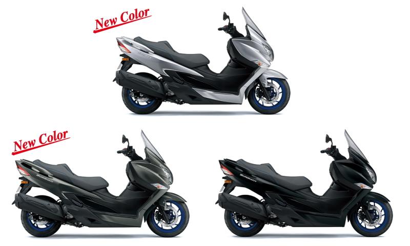 新商品 スズキ バーグマン400(BURGMAN400) 2022年モデル 発表