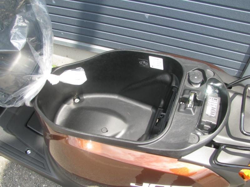 新車 ヤマハ JOG(ジョグ) ブラウン シートボックス