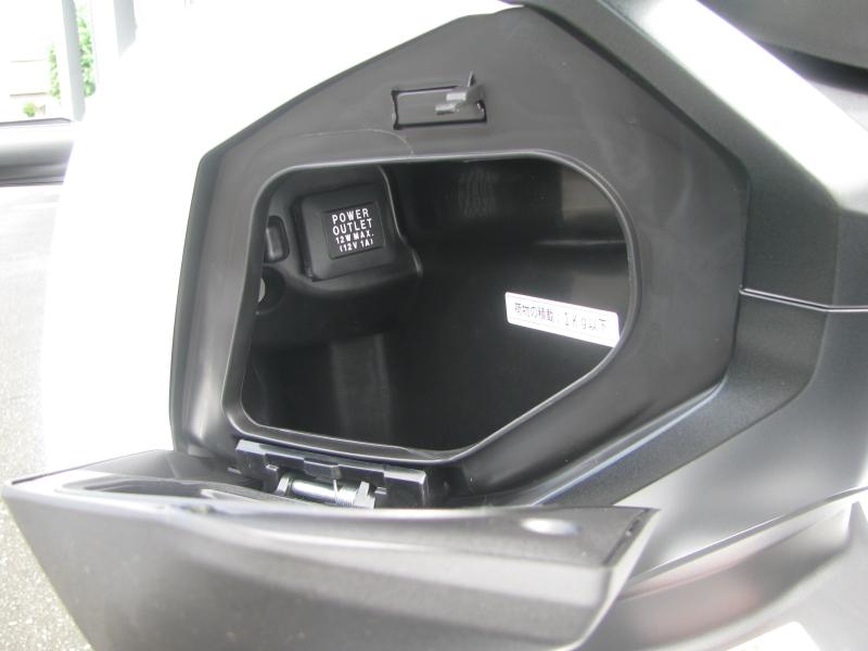 新車 ホンダ ADV150 ホワイト 受注期間限定車 アクセサリーソケット
