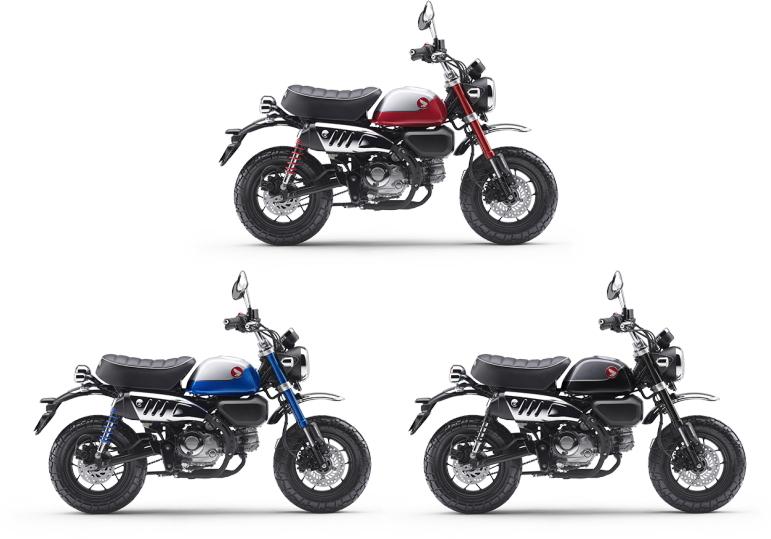 新商品 ホンダ モンキー125 ABS 2022年モデル発表