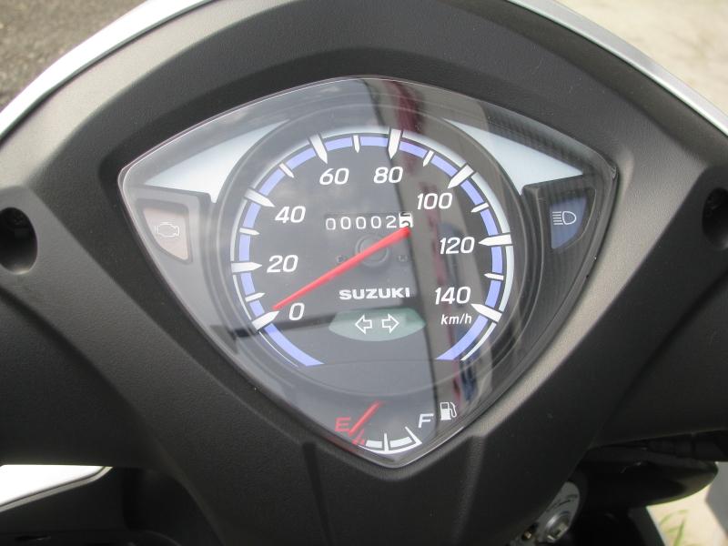 新車 スズキ アドレス110(Address110) シルバー スピードメーターパネル