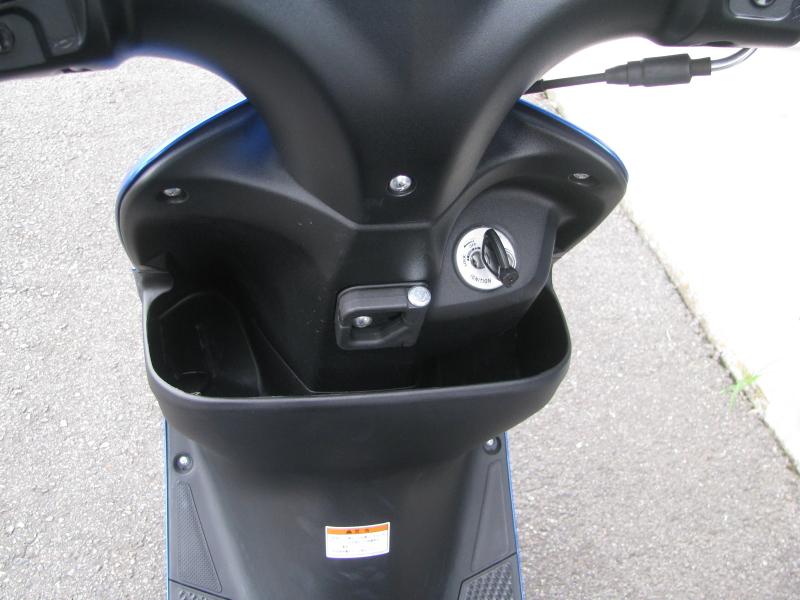 中古車 スズキ アドレスV50 ブルー フロントポケット