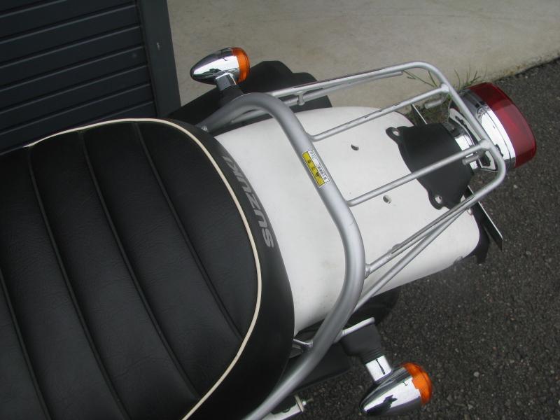 中古車 スズキ バンバン200(VanVan200) ホワイト リアキャリア