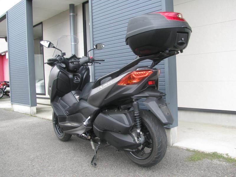 中古車 ヤマハ XMAX ABS(250ccスクーター) マットグレー 左うしろ側