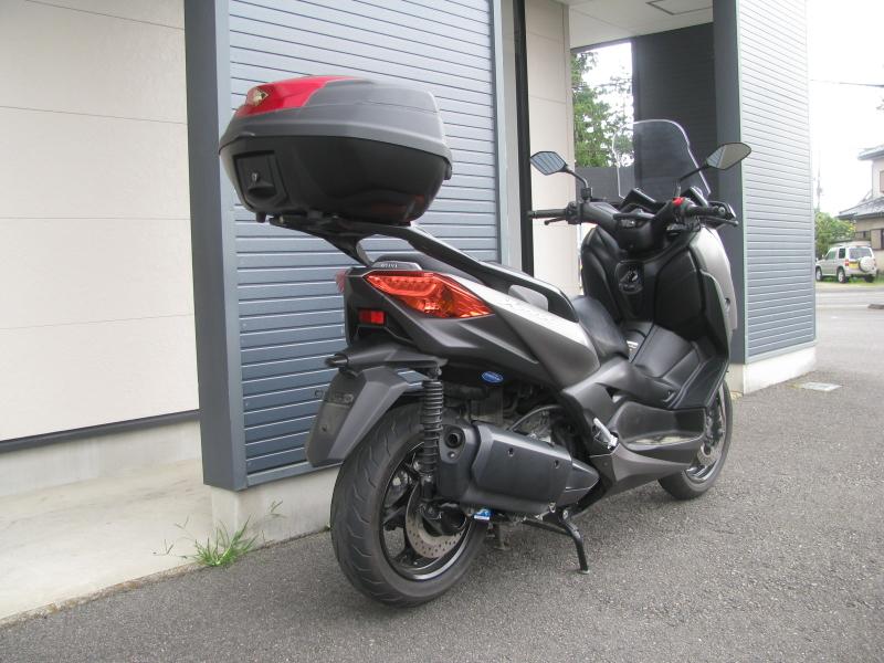 中古車 ヤマハ XMAX ABS(250ccスクーター) マットグレー 右うしろ側
