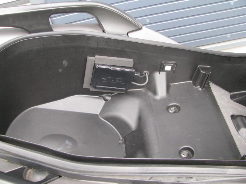 中古車 ヤマハ XMAX ABS(250ccスクーター) マットグレー 分離型ETC2.0が付いてます。