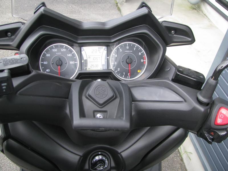 中古車 ヤマハ XMAX ABS(250ccスクーター) マットグレー メーターパネル