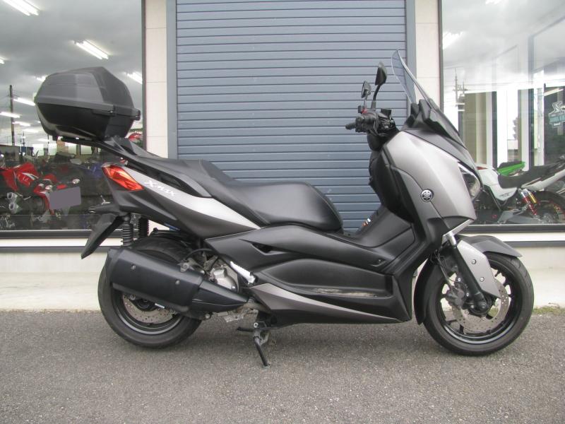 中古車 ヤマハ XMAX ABS(250ccスクーター) マットグレー みぎ側