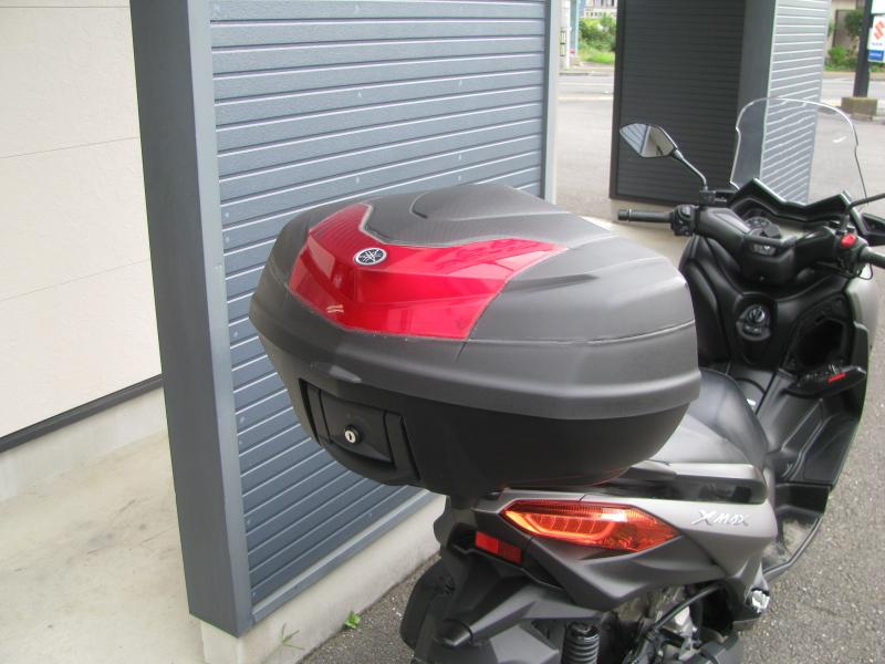 中古車 ヤマハ XMAX ABS(250ccスクーター) マットグレー トップボックス