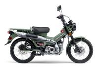 新商品 ホンダ ハンターカブCT125ABS 新色 グリーン 発表